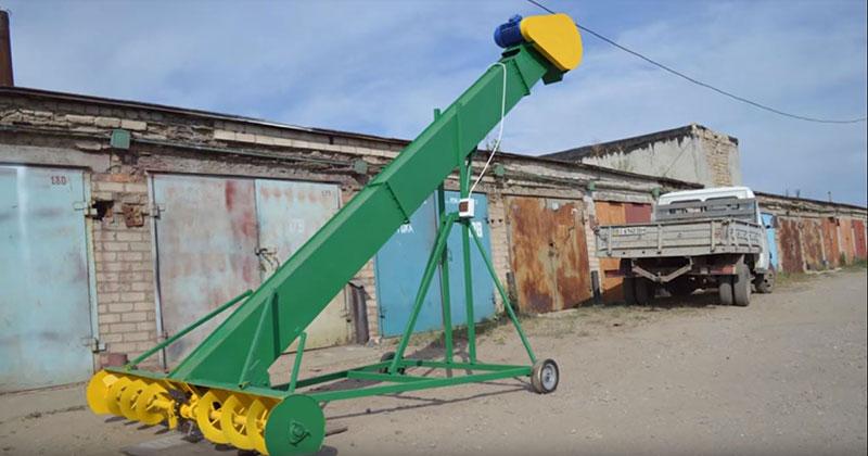 Производители зернометателей (фото зернометателя)