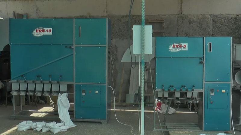 Производители зерноочистителей (фото зерноочистителя ЭРА)